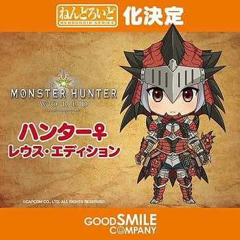 Monster Hunter: World is Getting a Nendoroid from GoodSmile Company