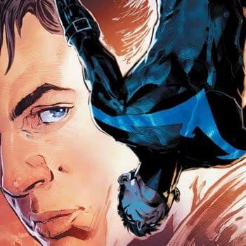 Nightwing #39 cover by Phil Jimenez and Romulo Fajardo Jr.