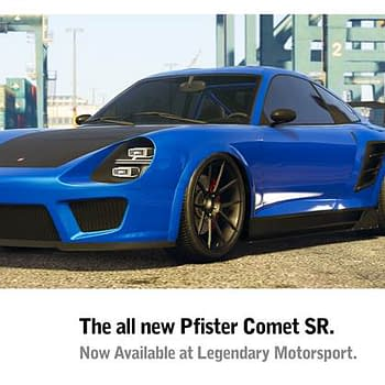 Grand Theft Auto V Adds New Cars and Discounts Including The Pfister Comet SR
