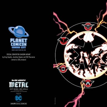 Planet Comicon Kansas City to Have 4 Dark Nights: Metal Exclusive Variant Covers