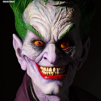 Joker Gets the Creepiest Bust of All Time from Hollywood Icon Rick Baker