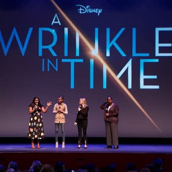 The Stars of A Wrinkle in Time Drop by the Disneyland Resort
