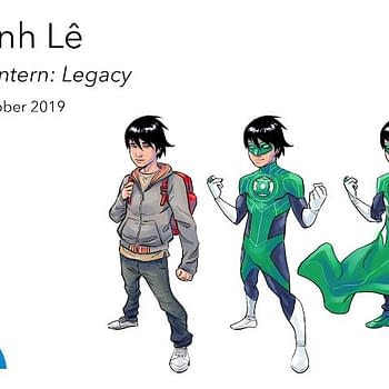 Drawn Togethers Minh Lê Brings Us the Youngest Green Lantern 13-Year-Old Tai
