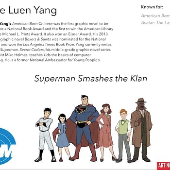 Why Superman Smashes the Klan Graphic Novel by Gene Luen Yang is Set in 1946