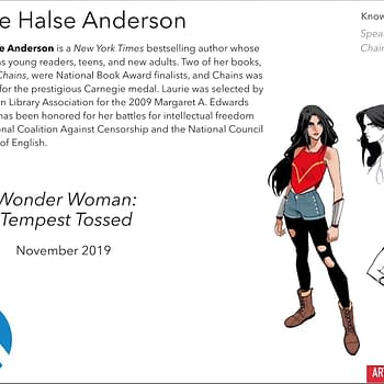A Teenage Wonder Woman Becomes a Refugee in Laurie Halse Andersons Tempest Tossed