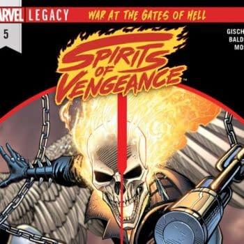 Spirits of Vengeance #5 cover by Dan Mora and Juan Fernandez