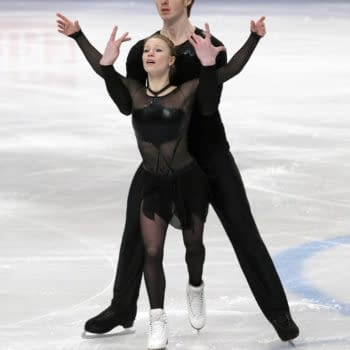 [Olympics] General Hux and Captain Phasma, aka Pairs Skaters Morozov and Tarasova