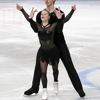 [Olympics] General Hux and Captain Phasma aka Pairs Skaters Morozov and Tarasova