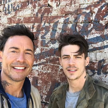 The Flashs Grant Gustin and Tom Cavanagh Play Idiots in New Short Film