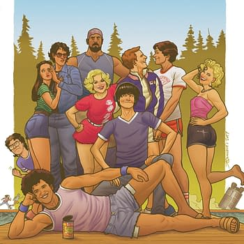 Christopher Hastings and Noah Hayes Are the Creative Team for BOOMs Wet Hot American Summer Comic