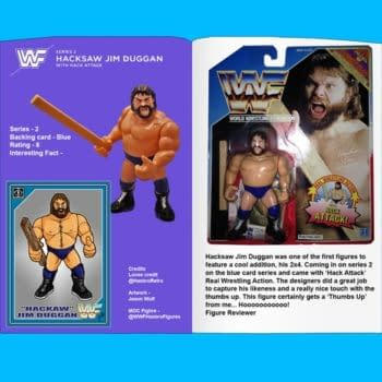 WWE Hasbro Book is on Kickstarter Now, and it Looks Like a Collector's Dream, Brother