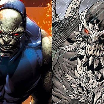 Darkseid vs Doomsday in Newest DC Versus