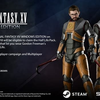 You Can Dress as Gordon Freeman in Final Fantasy XV: Windows Edition if You Pre-Order