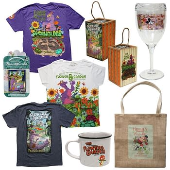 New Merchandise for This Years Flower and Garden Festival at Epcot