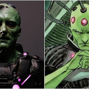 Krypton Season 1: Our First Look at Blake Ritson as Brainiac