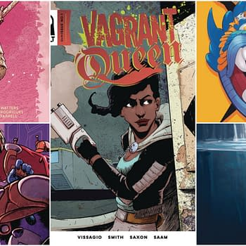 Vagrant Queen by Magdelene Visaggio: Vault Comics May 2018 Solicits