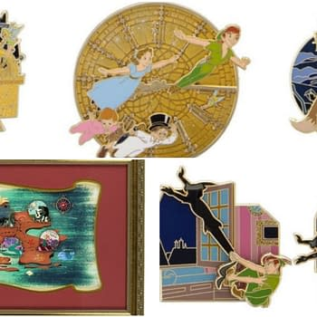 New Limited Peter Pan Pins Coming to a Neverland Near You