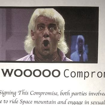 Ric Flair Briefly Sells $50 Sexual Consent Contract for Valentines Day Before Removing It