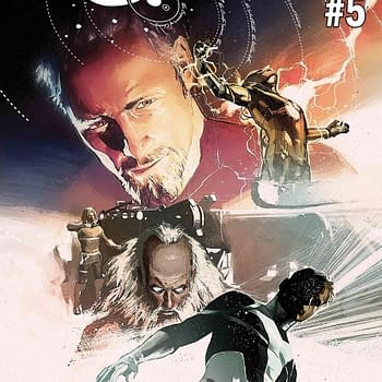 Finally&#8230 Jonathan Hickman and Dustin Weavers SHIELD #5 and #6 for May 2018