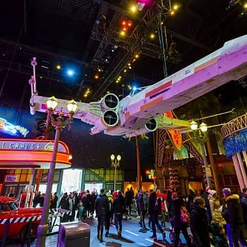 Fan-Built Star Wars Vehicles on Display at Disneyland Paris