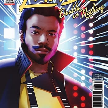 Rodney Barnes Teams with Superstar Artist TBD for Lando: Double or Nothing at Marvel in May