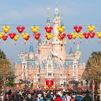 Shanghai Disneyland Celebrates the Year of the Dog