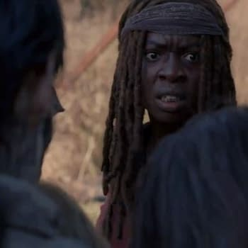 The Walking Dead Season 8: Michonne Deals with Walkers at the Gates