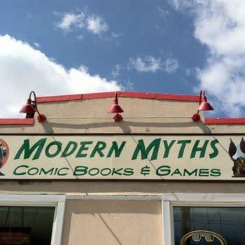 Modern Myths comic stores