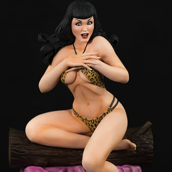 Dynamite Unveils New Bettie Page Statue Inspired by Terry Dodson