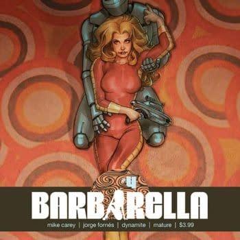 Mike Carey barbarella #4
