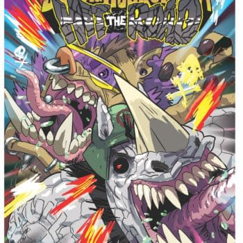 Bebop and Rocksteady Hit The Road at IDW from Ben Bates and Dustin Weaver