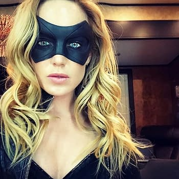 Caity Lotz Posts Black Canary Image Is it Reminiscing or Teasing
