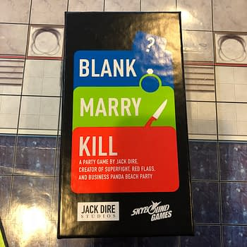 Decisions Decisions: We Review Blank Marry Kill from Skybound Games
