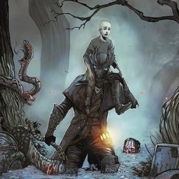 Bloodborne #2 cover by Damien Worm
