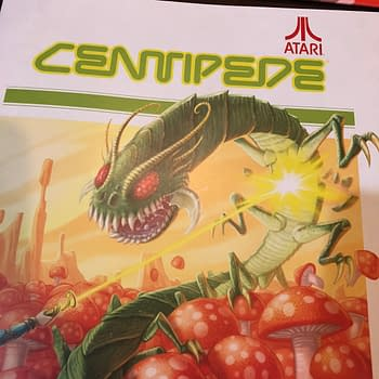 Checking Out the Board Game Version of Centipede from IDW Games