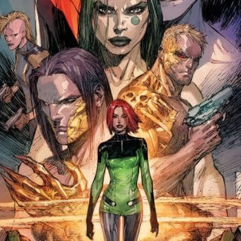 Cyber Force #1 cover by Marc Silvestri
