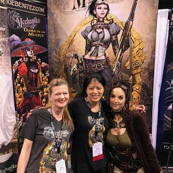 Dieselfunk Dispatch: Indie Wonders at #WonderCon 2018 with Marcia Chen of Joe Benitez Productions