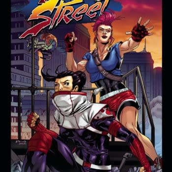 Final Street #1, a Gender-Flipped Street Fighter Launches in Devil's Due/1First June 2018 Solicits