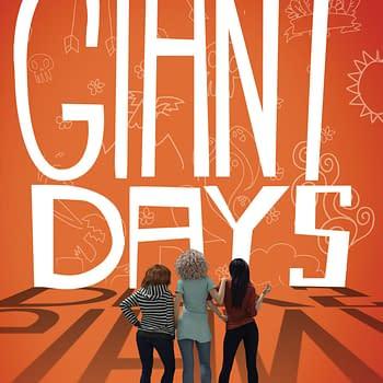 Nom Pratt is writing a Young Adult Novel Based on John Allisons Giant Days