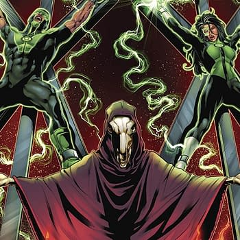 Green Lanterns #42 Review: A Balance of Religious Dissection and Sci-Fi Action