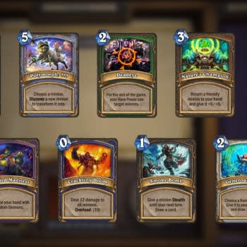 Hearthstone's Arena Draft Mode is Getting an Update This Month