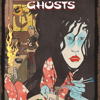 Dark Horse to Collect Anthony Bourdains Hungry Ghosts in September