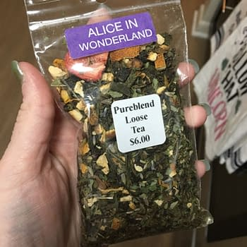 Nerd Food: Alice in Wonderland Brew from Pureblend Tea