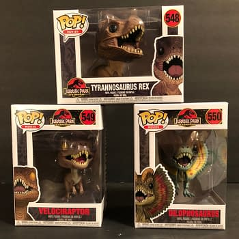 Hold on to Your Butts – Jurassic Park Dinosaur Funko Pops Are Here