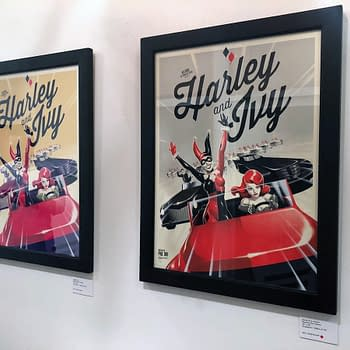 First Look at Mondos Batman: The Animated Series Art Show at SXSW