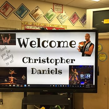 See Christopher Daniels More ROH Wrestlers Read to Kids for NEAs Read Across America Day
