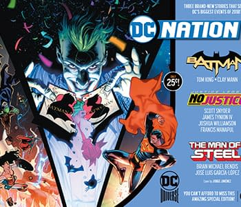 Only the First Printing of DC Nation #0 Will Be 25 Cents