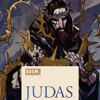 Judas #4 cover by Jakub Rebelka