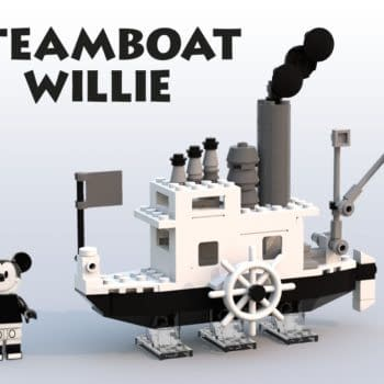 This Steamboat Willie LEGO Ideas Set Needs to Become a Reality