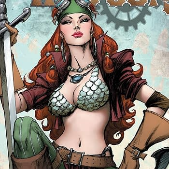 Legenderry Red Sonja #2 Review: Red Sonja is a Steam-Punk Pirate